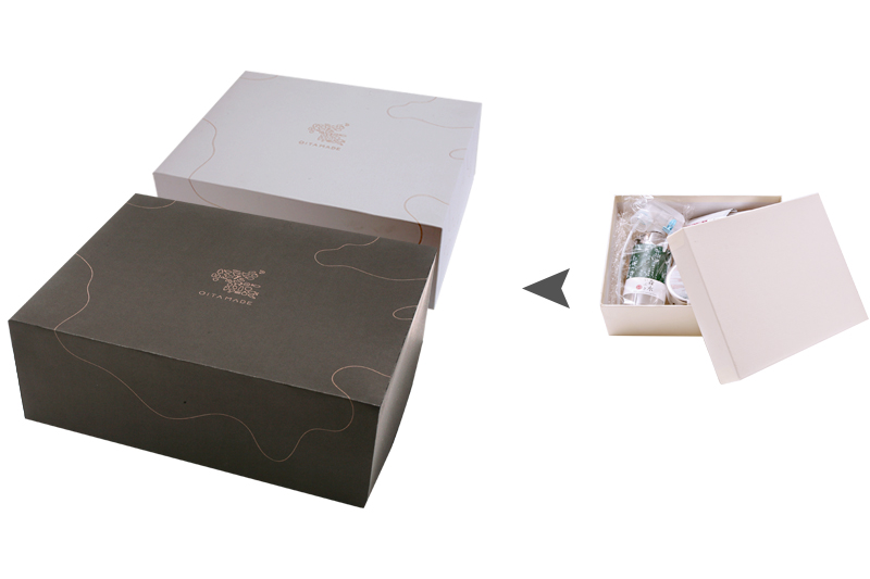 Oita Made オリジナル商品詰め合わせ用ギフトBOXのデザイン[ Oita Made 株式会社 ]