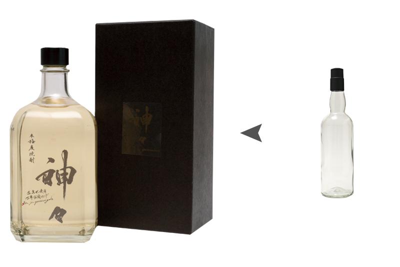 神々Premium Labelのボトルラベルと化粧箱デザイン[ 株式会社 LINES ]