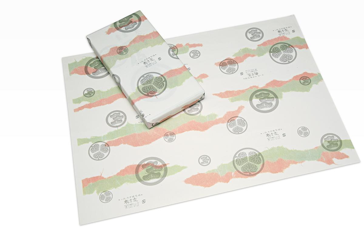 銘菓 一伯の包装紙