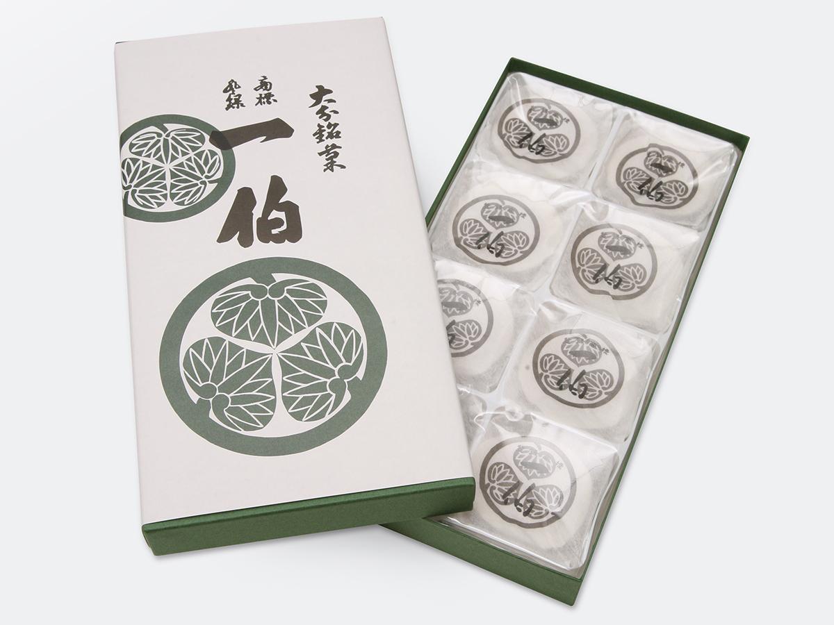 包装紙で包むのは、一泊箱入りです。このデザインはこのまま使用します。